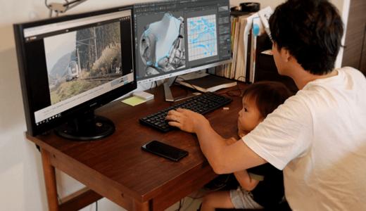 CGデザイナーはフリーランスになると自宅で快適に仕事が出来るようになり給料も増える