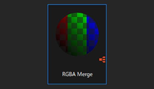 RGA Merge繋げたグレースケール画像の背景を透明にしてくれるノード